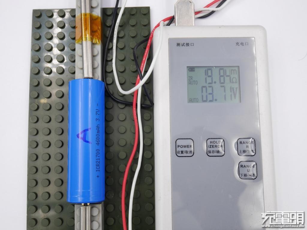 单节容量高达4600mAh,国产21700圆柱电芯评测-充电头网