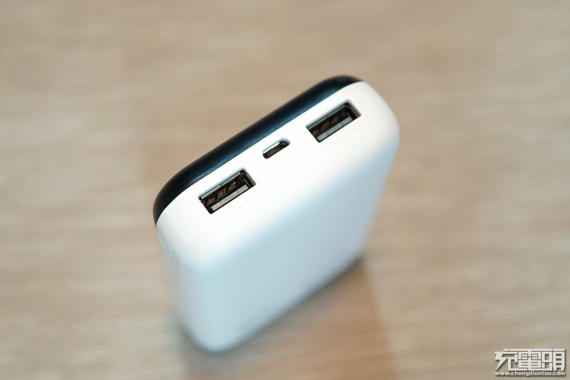 10000mAh移动电源可以多小?台电C10移动电源评测-充电头网