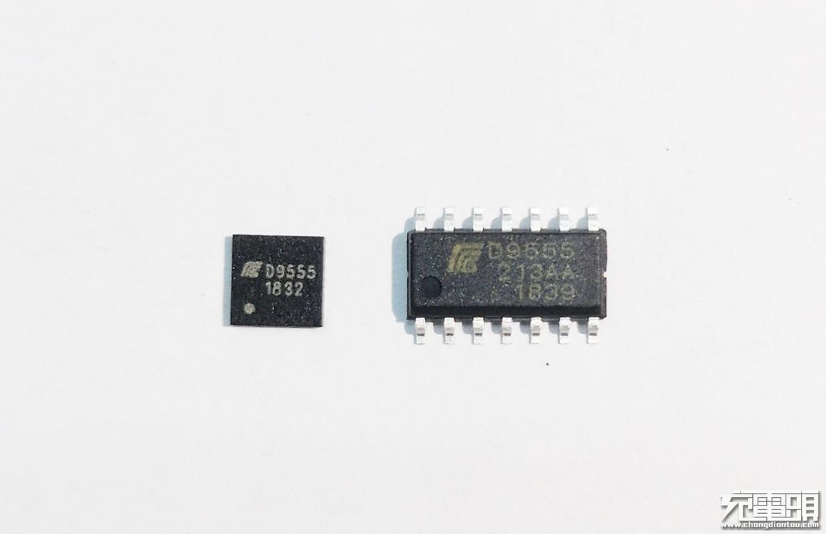 充电头网进一步了解到,目前盛廷微D9555已经在出货的有QFN-16、SOP-14两种封装形式,另外还可以提供SOP-10的封装,满足不同客户的定制化需求。 盛廷微电子(深圳)有限公司2011年10月公司开始引进高端数字,模拟电路及数模混合信号集成电路设计、开发等半导体相关高新技术,掌握了芯片设计、半导体工艺、封装三者整合先进技术,代表了国际上现阶段功率IC系统设计的较高水平。同时引进美国艾赛斯技术成功开发各型号高低压MOS,PMOS,CMOS,肖特基,以及绿色电源管理芯片,LED驱动芯片等四大种类产品