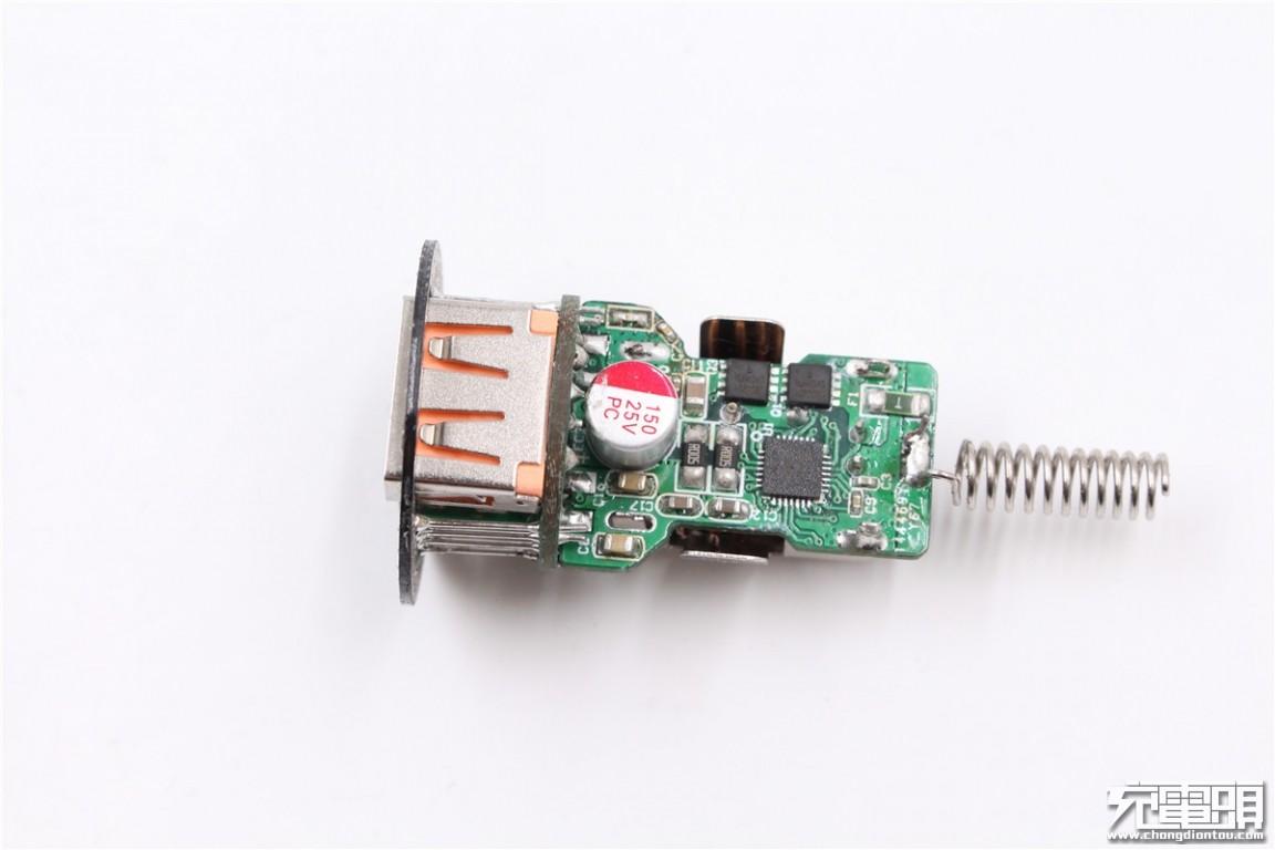 Magic Fox魔狐USB PD3.0 PPS快充车载充电器拆解-充电头网