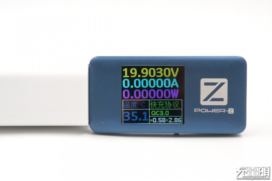 QC3.0 20V Class B?小米9原装充电器评测(MDY-10-EH)-充电头网