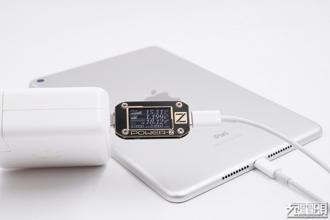 2019版iPad mini对各种快充线和充电器兼容性测试
