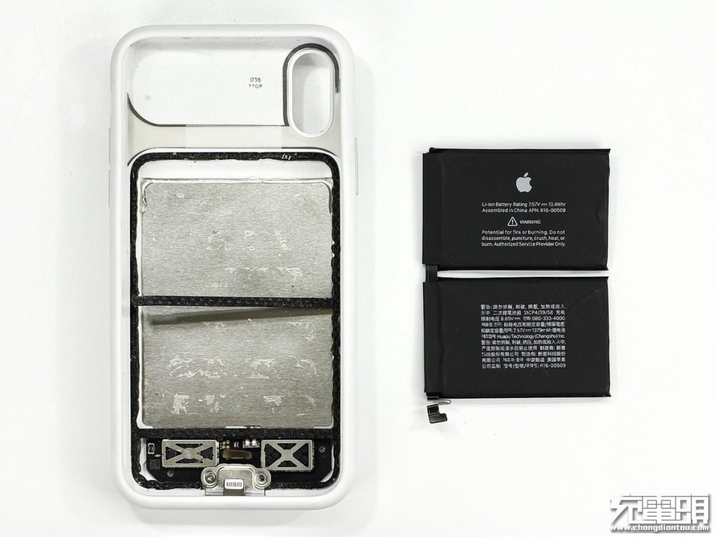 拆解报告:iPhone XS Max Smart Battery Case智能电池壳(A2071)-充电头网