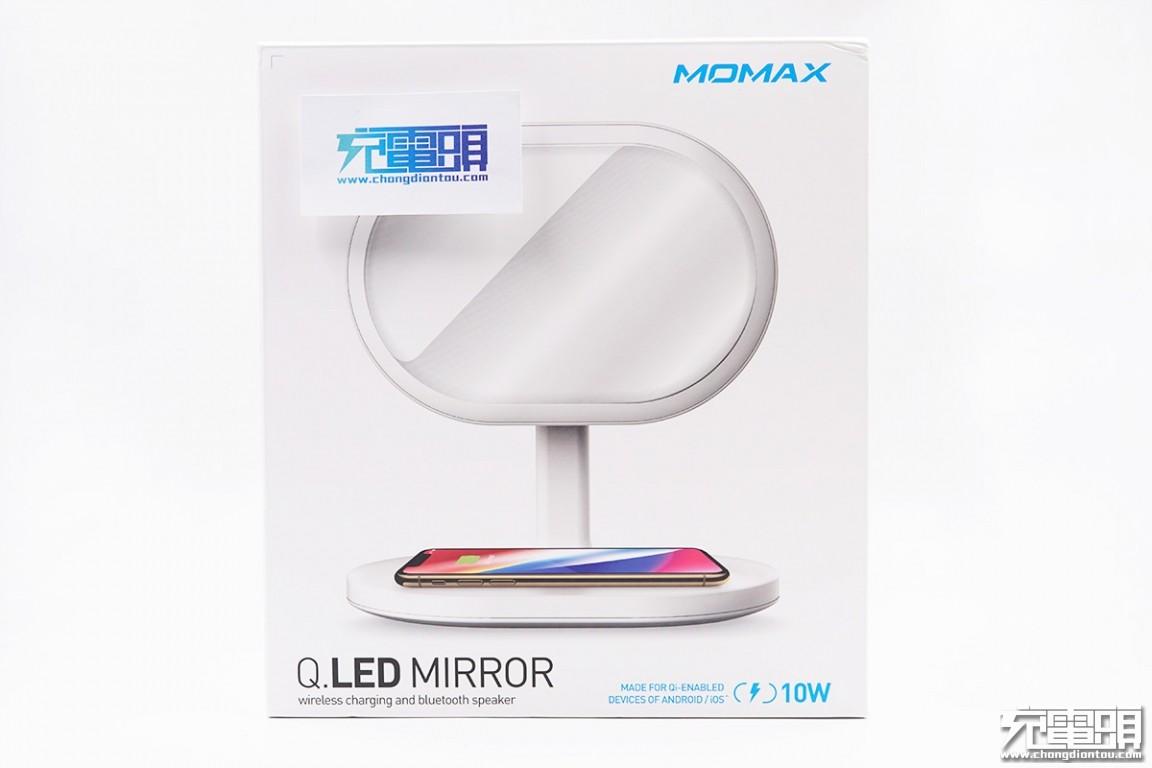 拆解报告:MOMAX摩米士Q.LED MIRROR无线充电美妆镜台灯(QL3)