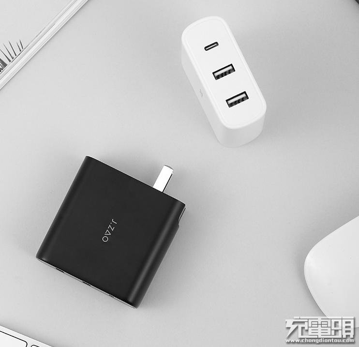 京东京造推出65W三口快充,能同时充三台手机