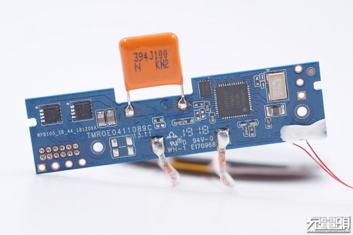 拆解报告:ZMI紫米10000mAh无线充移动电源(WPB100)-充电头网