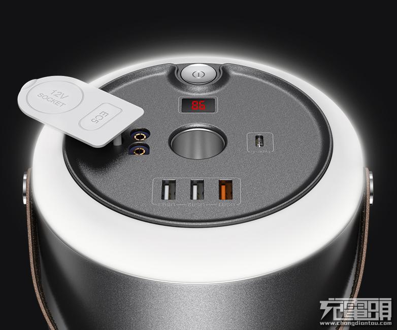 48000mAh 30W PD移动充电站,羽博推出150C便携式储能电源-充电头网