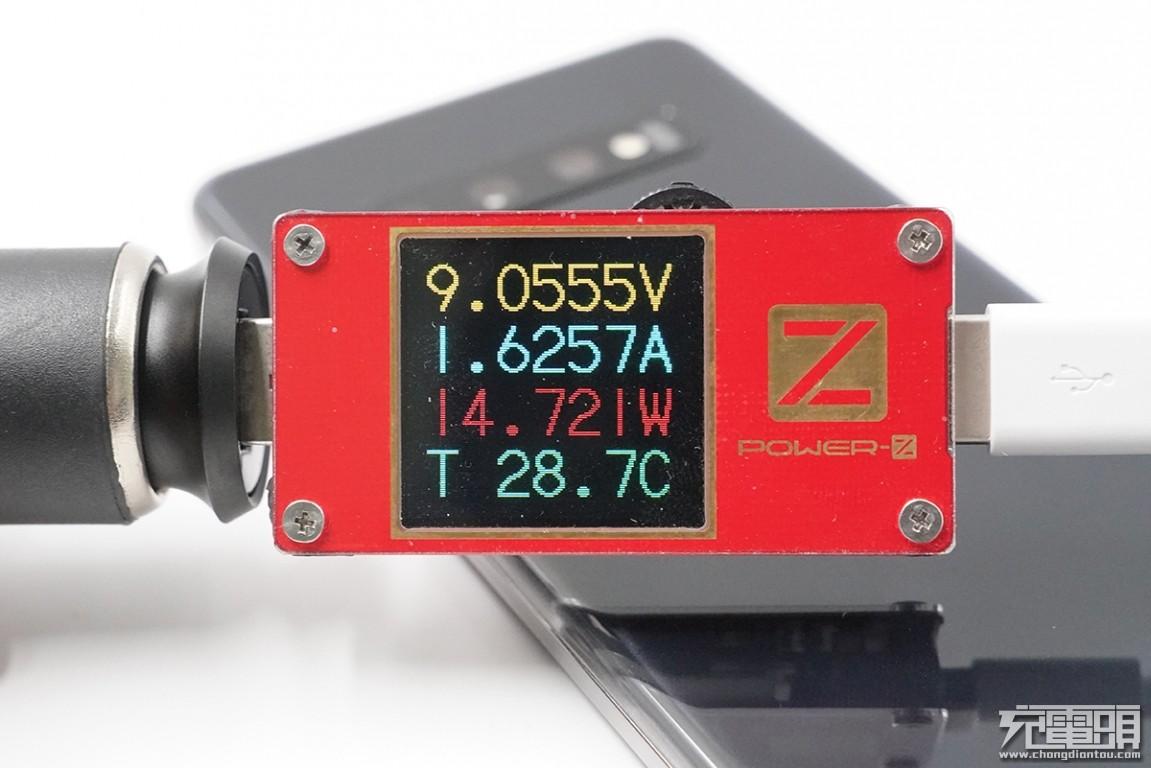 1A1C双输出,邦克仕C29 30W PD金属车充评测-充电头网