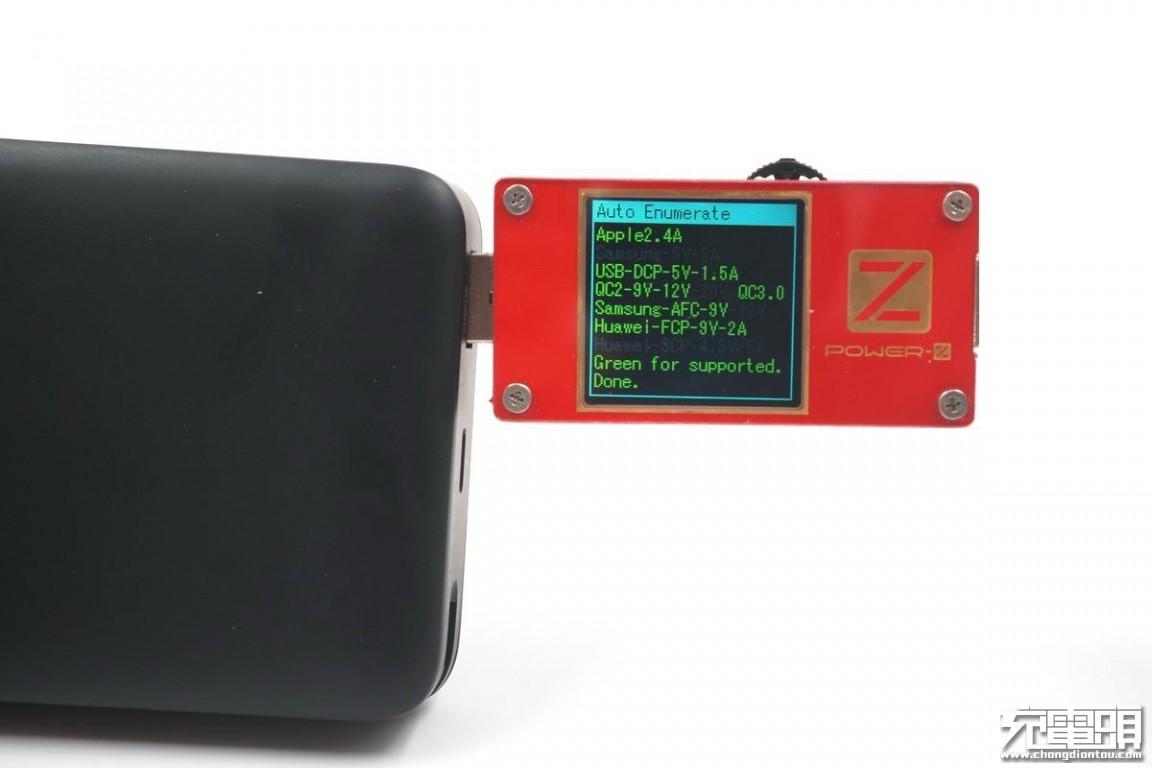 自带MFi认证C94数据线,绿联20000mAh移动电源开箱评测-充电头网