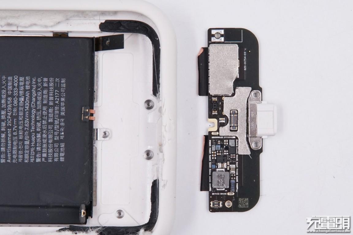 拆解报告:iPhone 11 Smart Battery Case智能电池壳(A2183)-充电头网
