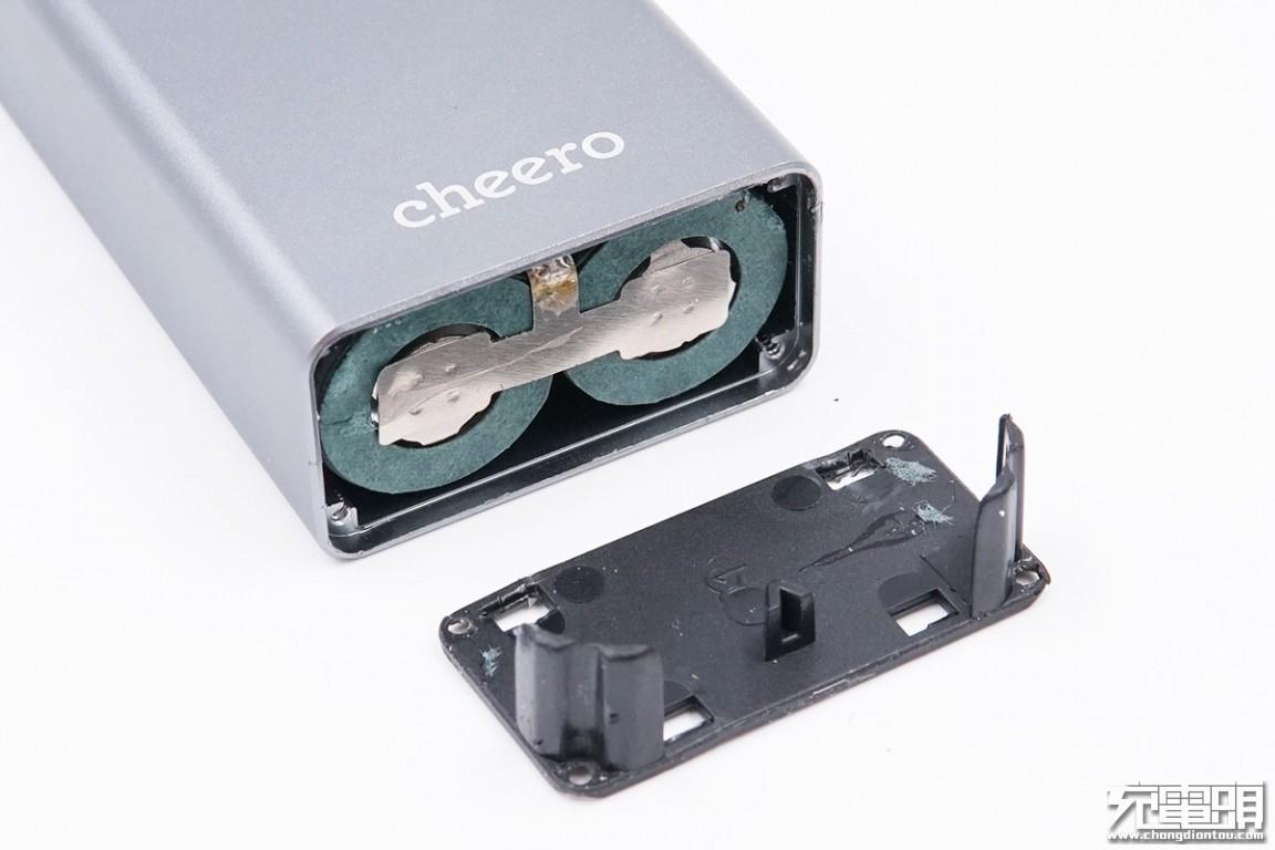 拆解报告:cheero 10000mAh 18W快充移动电源CHE-101-充电头网