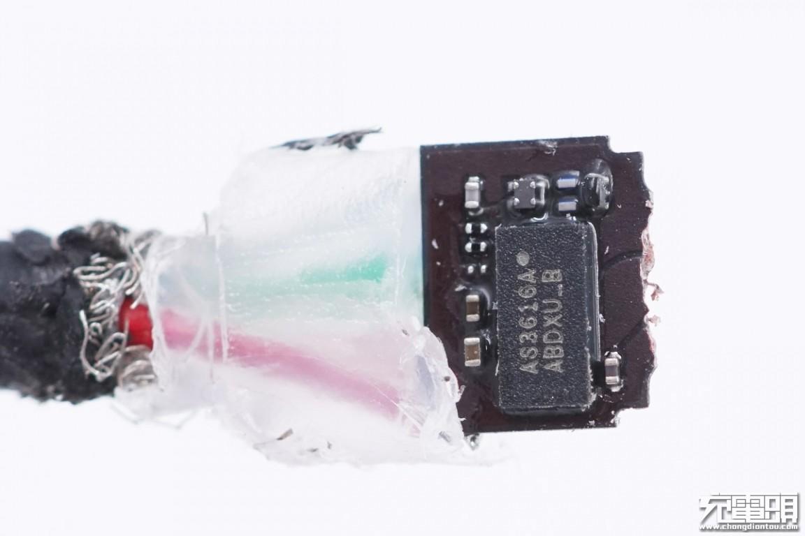 拆解报告:mophie MFi认证 USB-C to Lightning编织线-充电头网