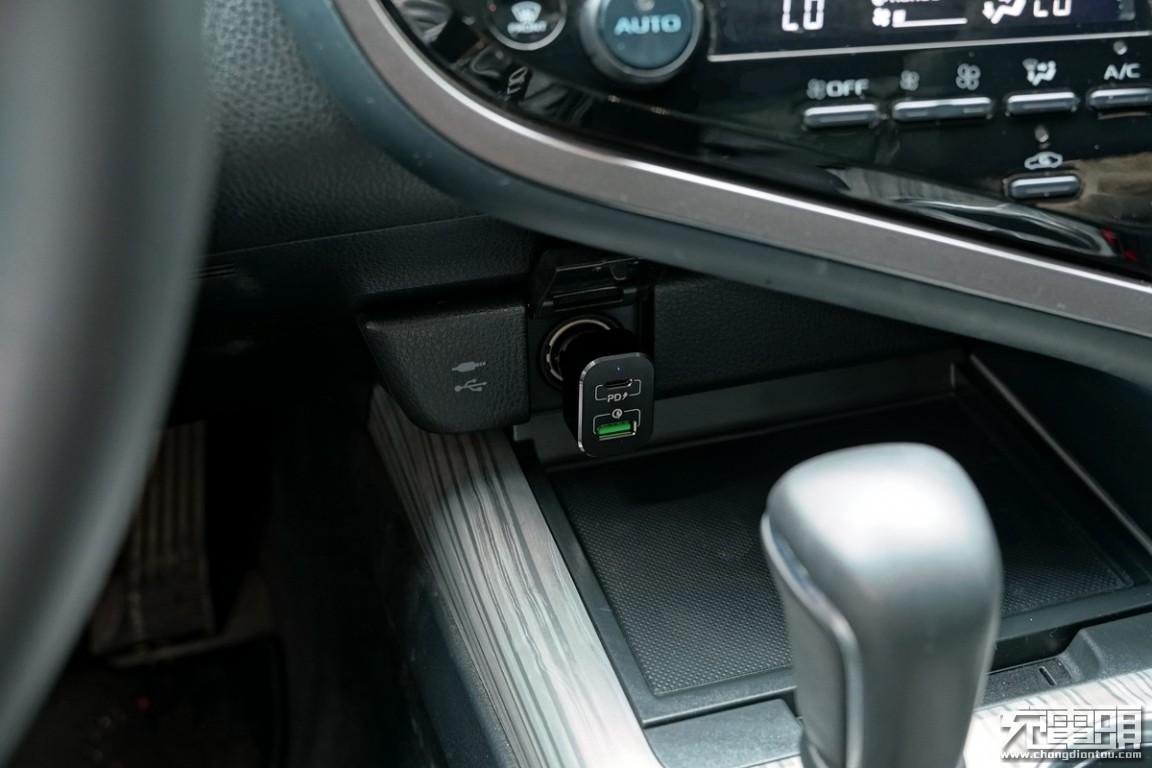 支持20V输出,MOMAX摩米士1A1C车载充电器评测(UC11)-充电头网