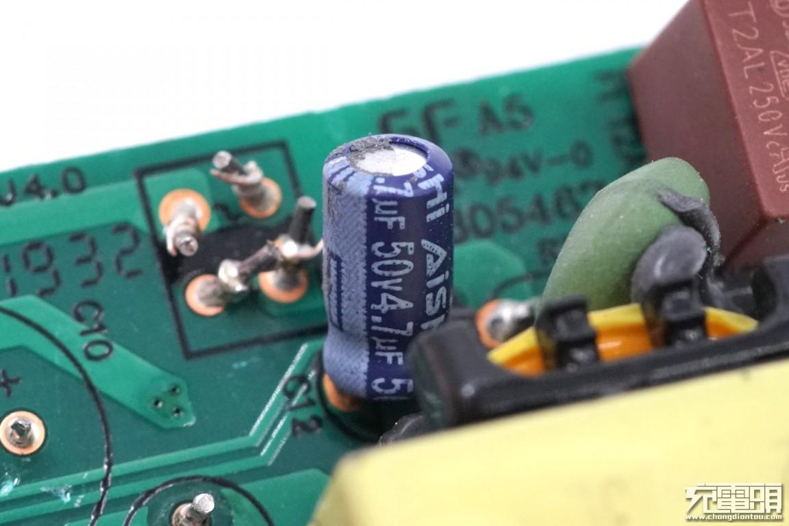 拆解报告:MI小米18W QC3.0快充充电器MDY-10-ED-充电头网