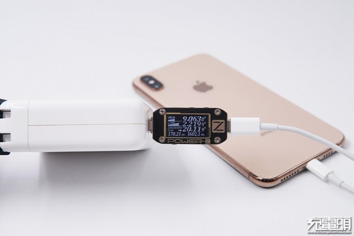 从20到200cm 苹果USB-C to lightning数据线影响充电性能吗?实测揭晓-充电头网