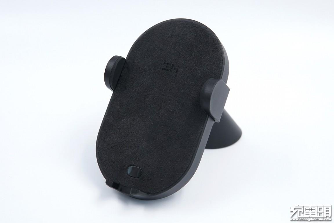 解放双手,感应伸缩:紫米无线车充支架自动版10W评测-充电头网