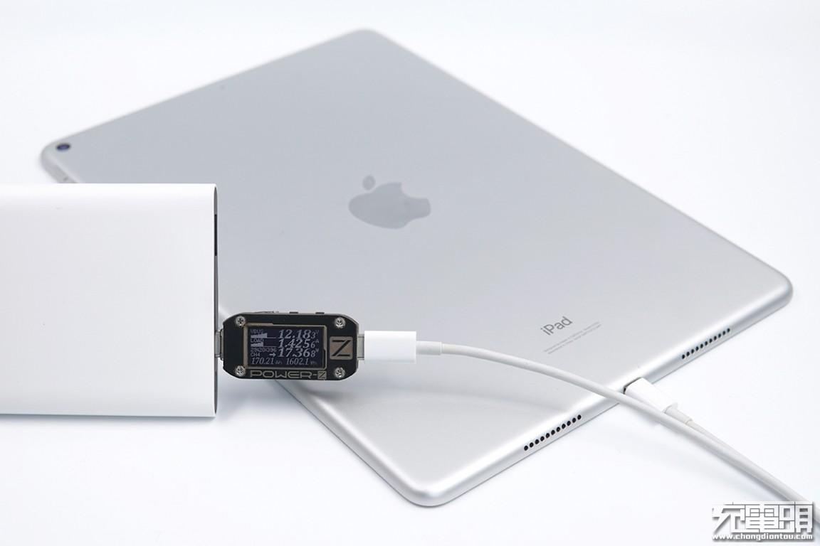 自带数显功率表,支持PD、SCP等快充,魅族超充移动电源评测-充电头网