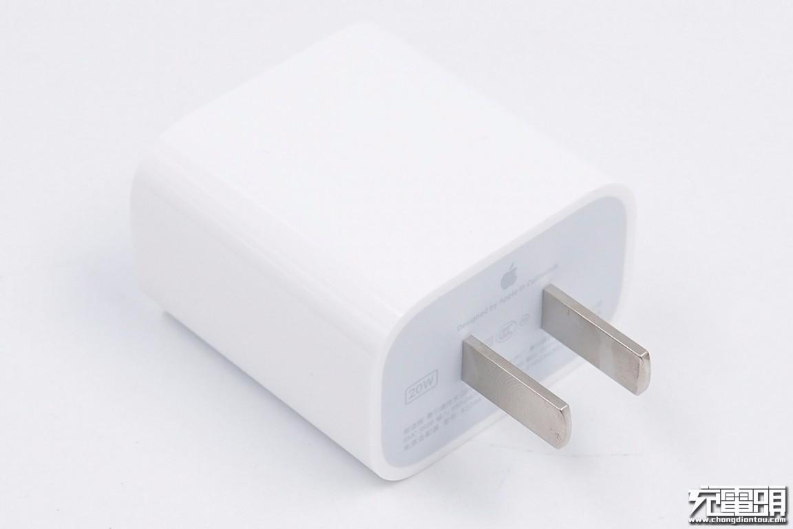 苹果原装20W PD快充拆解插图