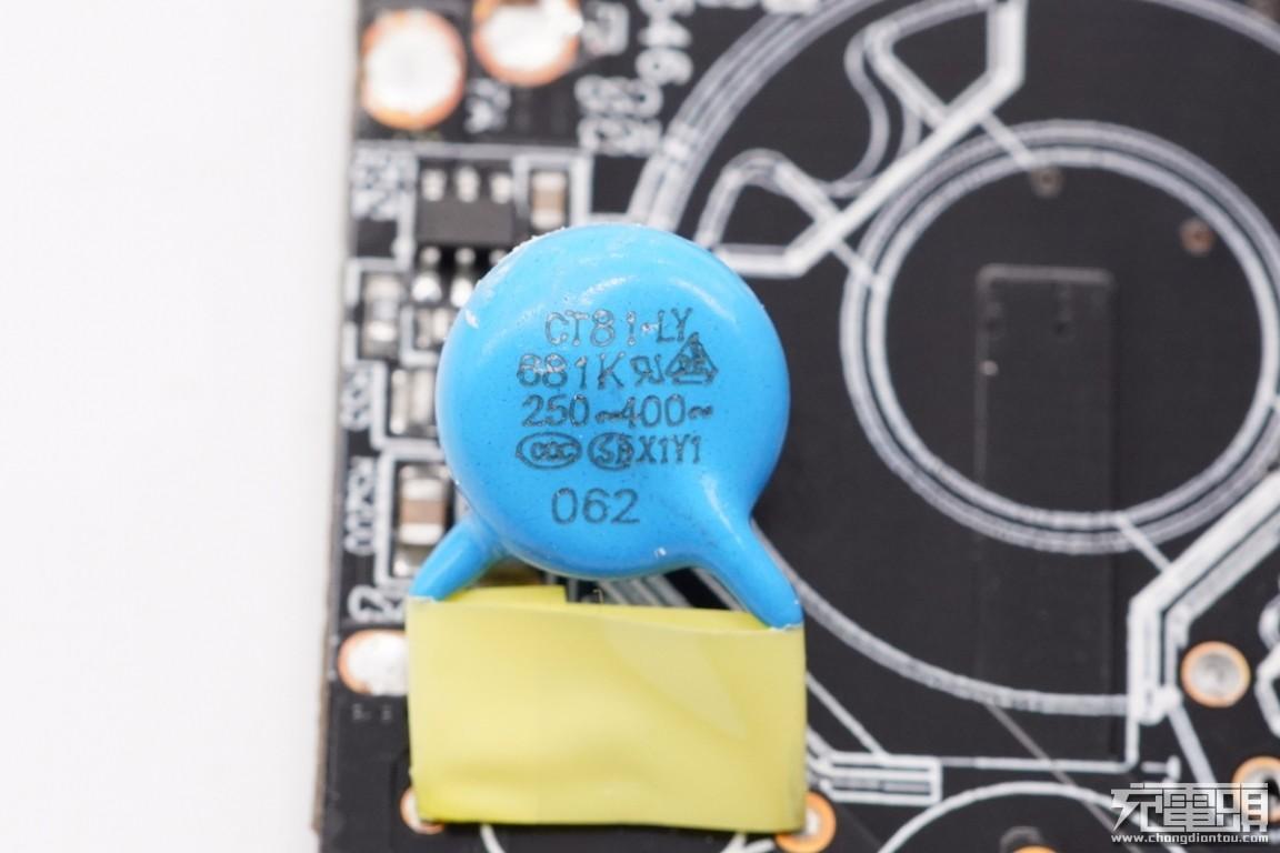 拆解报告:联想65W PD快充火柴盒电源C65B-充电头网