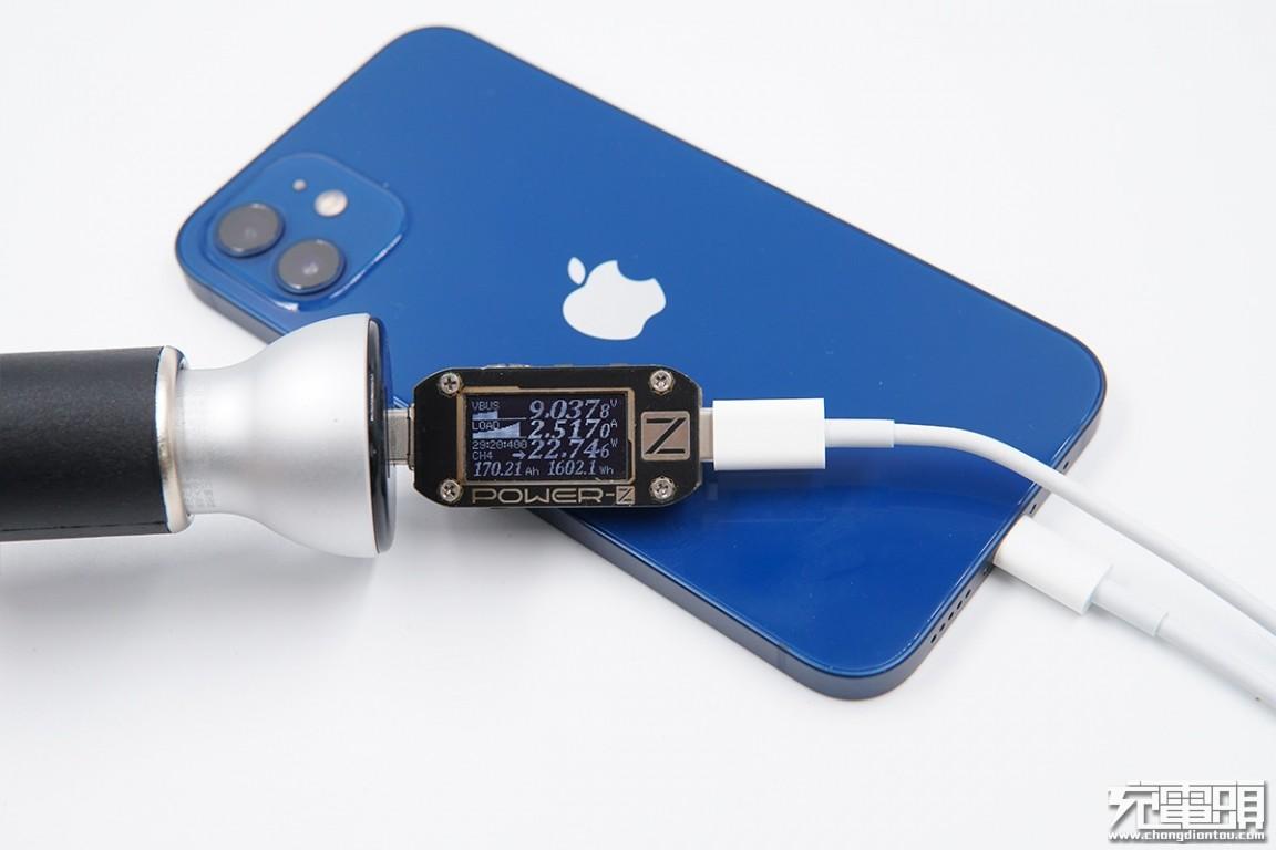 iPhone 12与车充兼容性如何?测试16款解决问题-充电头网