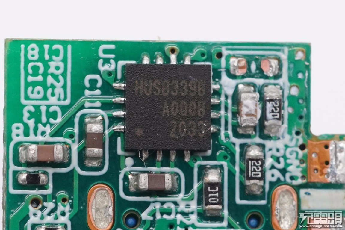 拆解报告:BULL公牛20W USB PD快充充电器GNV-AUB201-充电头网