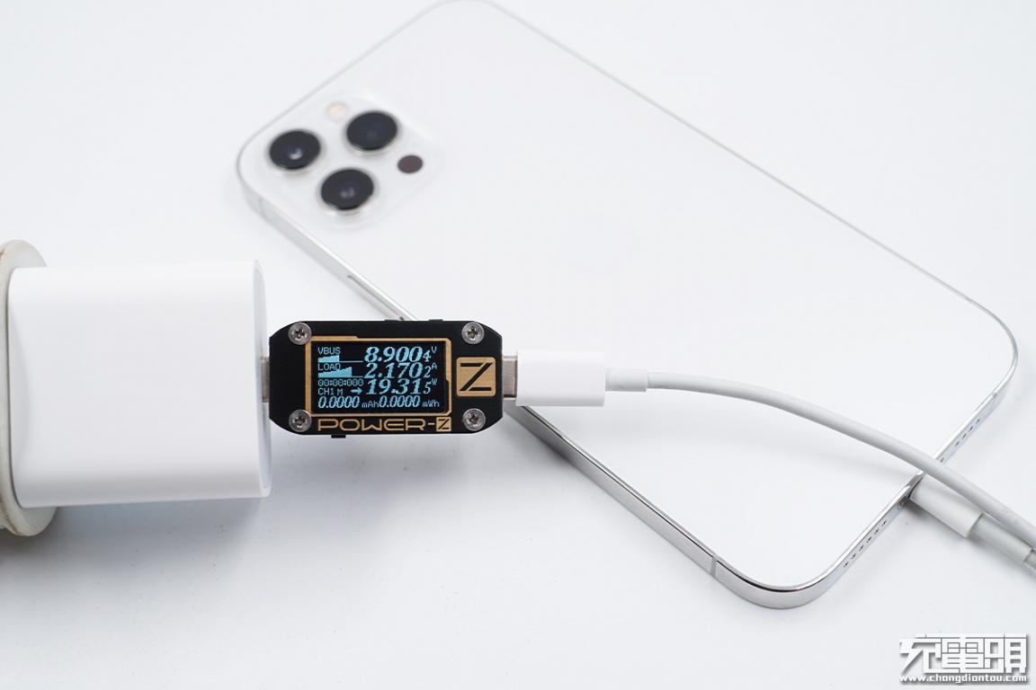 场景为王,需求至上:苹果20W充电器与一加 8T充电器对比-充电头网