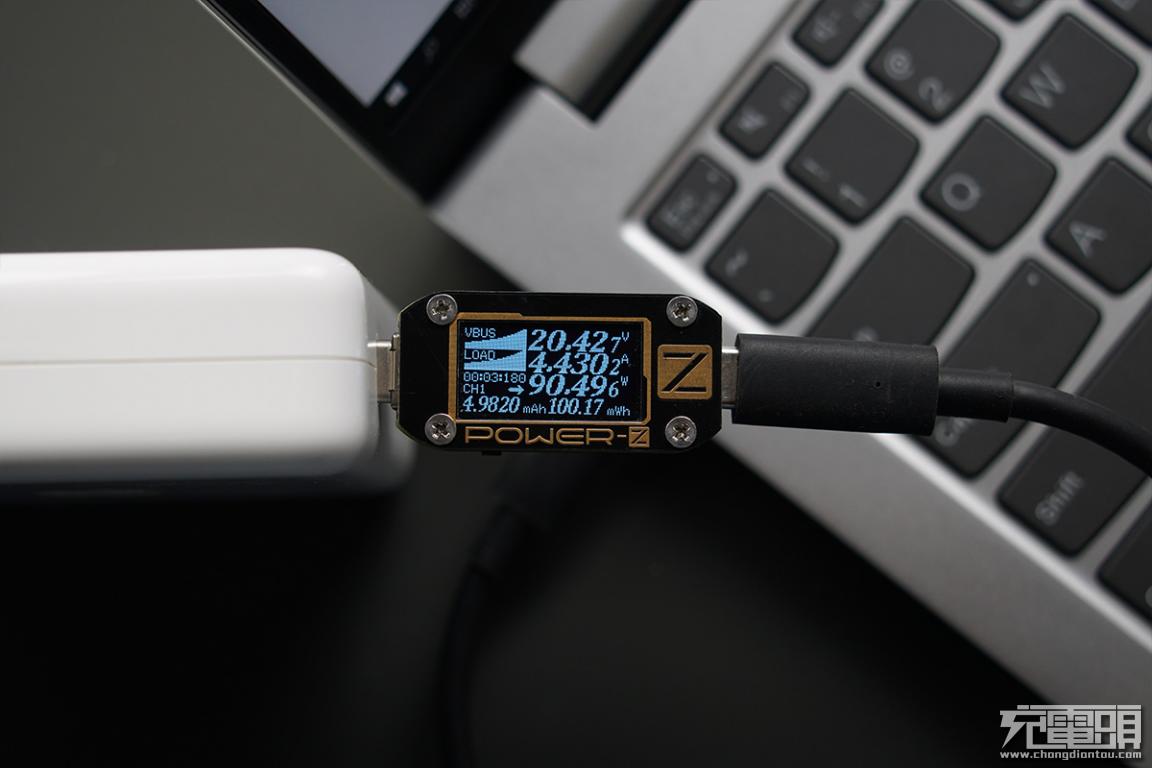 双雷电4接口加持,联想小新Pro14充电和拓展评测-充电头网