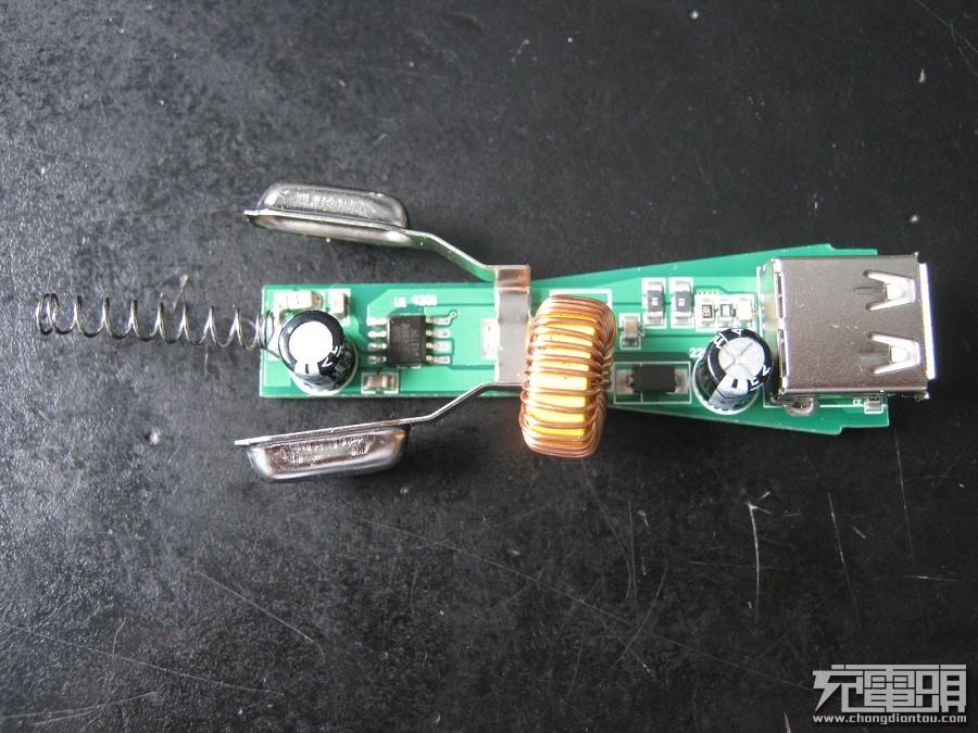 搭载思旺SE100 QC2.0识别芯片车充测试-充电头网