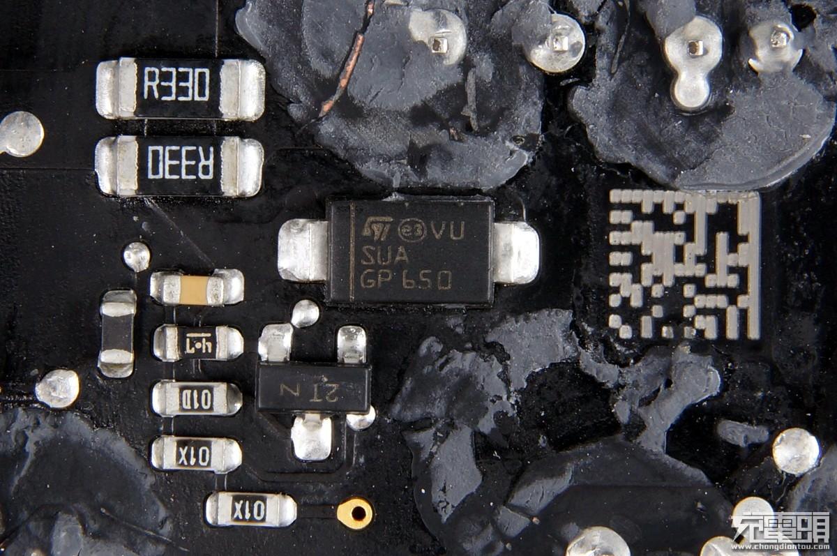 APPLE A1719 87W USB-C 苹果电源适配器拆解评测-充电头网