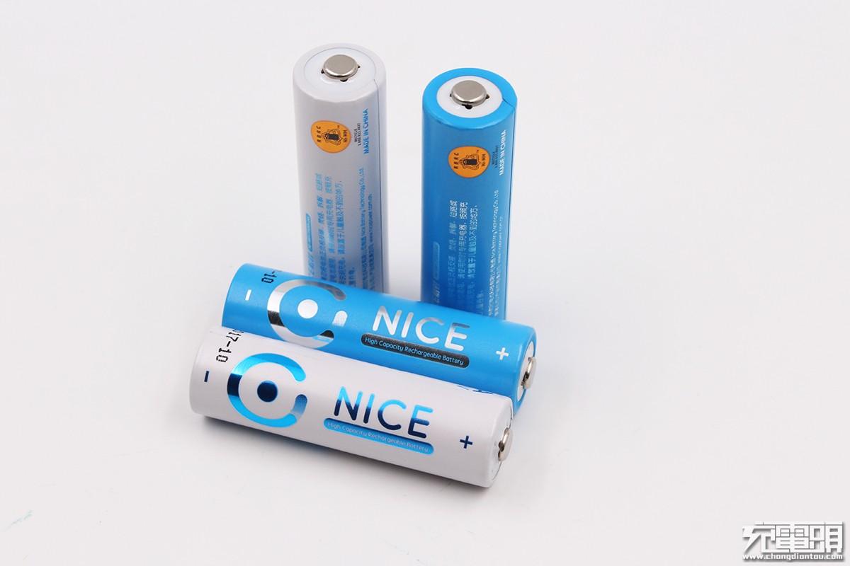 耐时发布充电电池套装,存放一年仍有80%电量-充电头网
