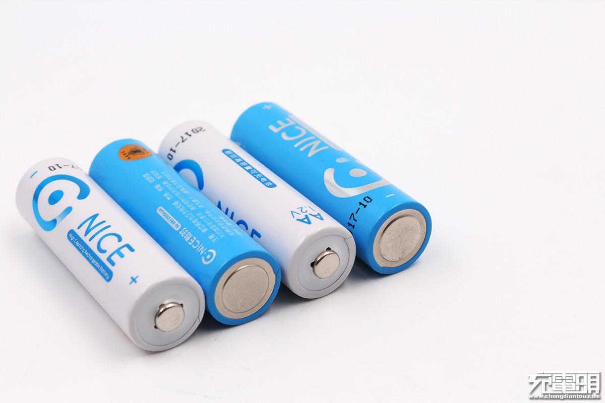 新品上市 耐时镍氢可充电电池套装上手评测-充电头网