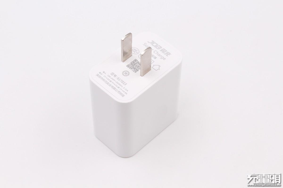 JDB 617023 十合一闪充充电器评测-充电头网
