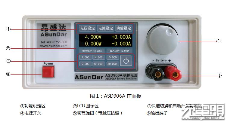 ASD906A模拟电池