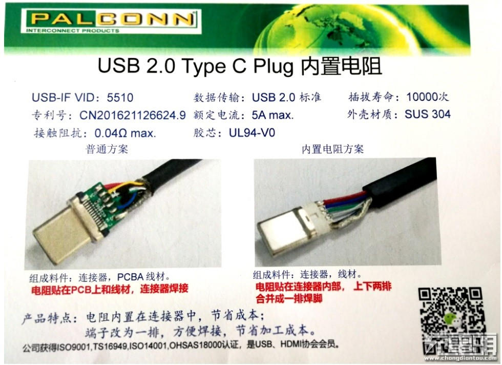 2018(春季)中国USB PD快充产业高峰论坛:PALCONN展出多项Type-C专利产品-充电头网