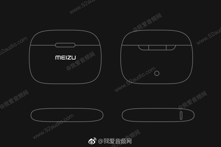"""魅族""""真无线""""耳机设计图外泄:TWS无线蓝牙+无线充电-充电头网"""