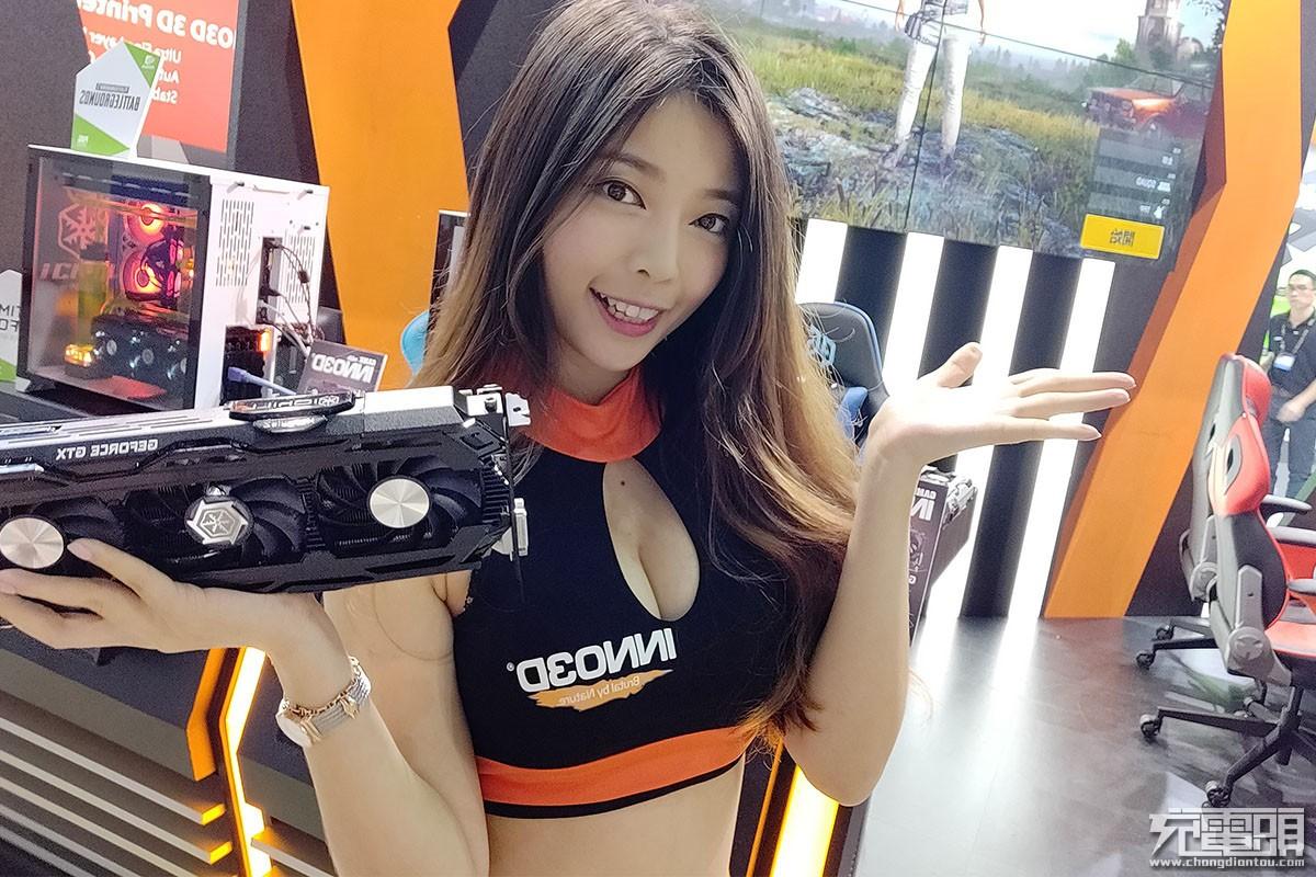 COMPUTEX 2018台北国际电脑展:Showgirl美女图赏汇总-充电头网