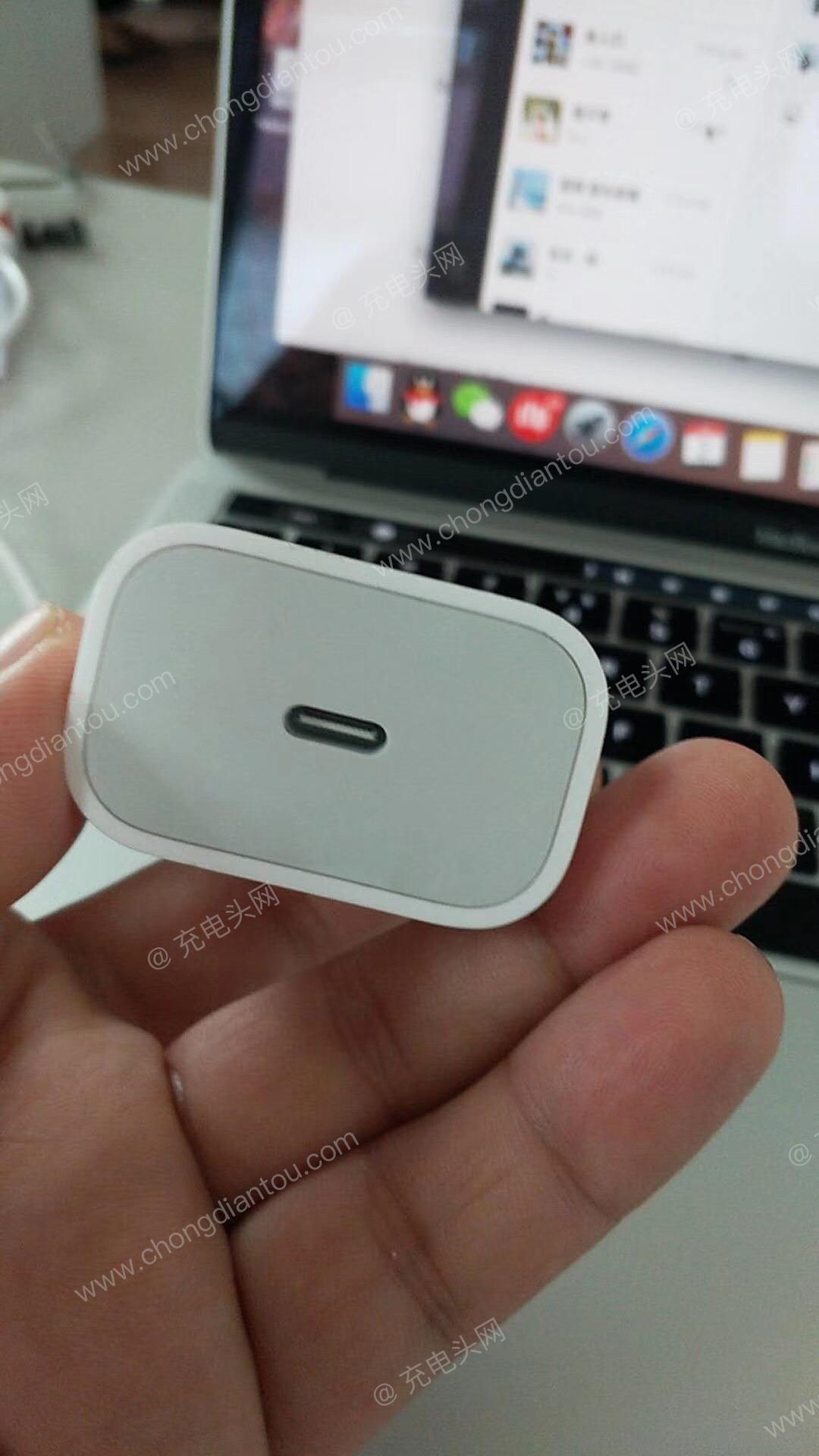 疑似iPhone 9充电器曝光!-充电头网