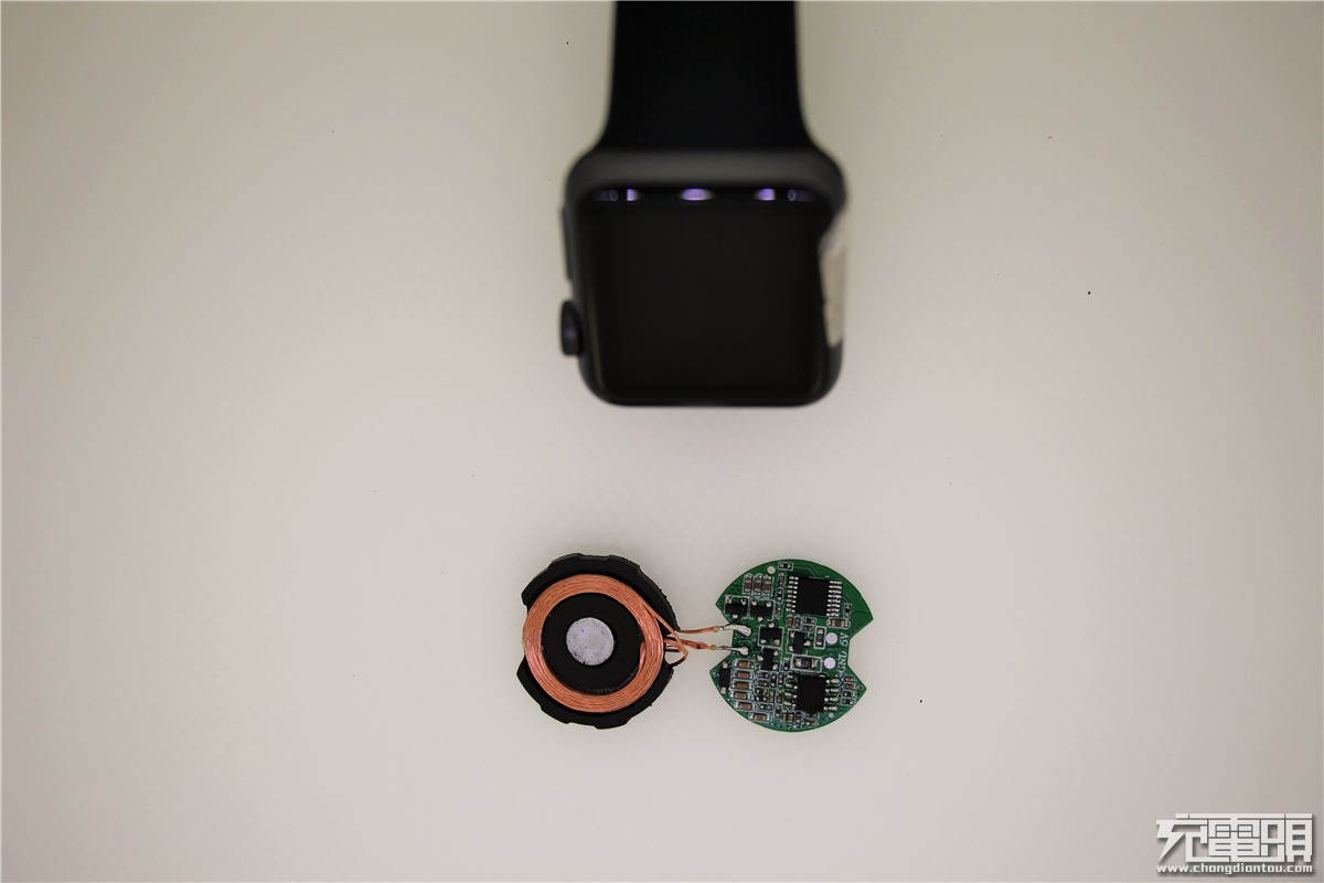 支持苹果全系Apple Watch:华昌德推出手表无线充电专用控制板-充电头网