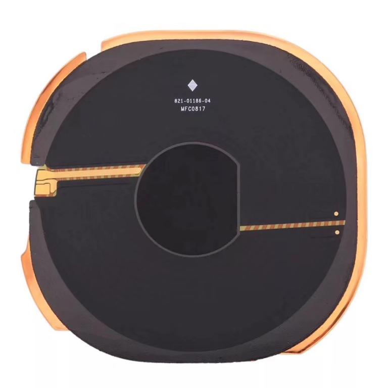 疑似新一代iPhone无线充电接收线圈曝光,采用纳米材料-充电头网