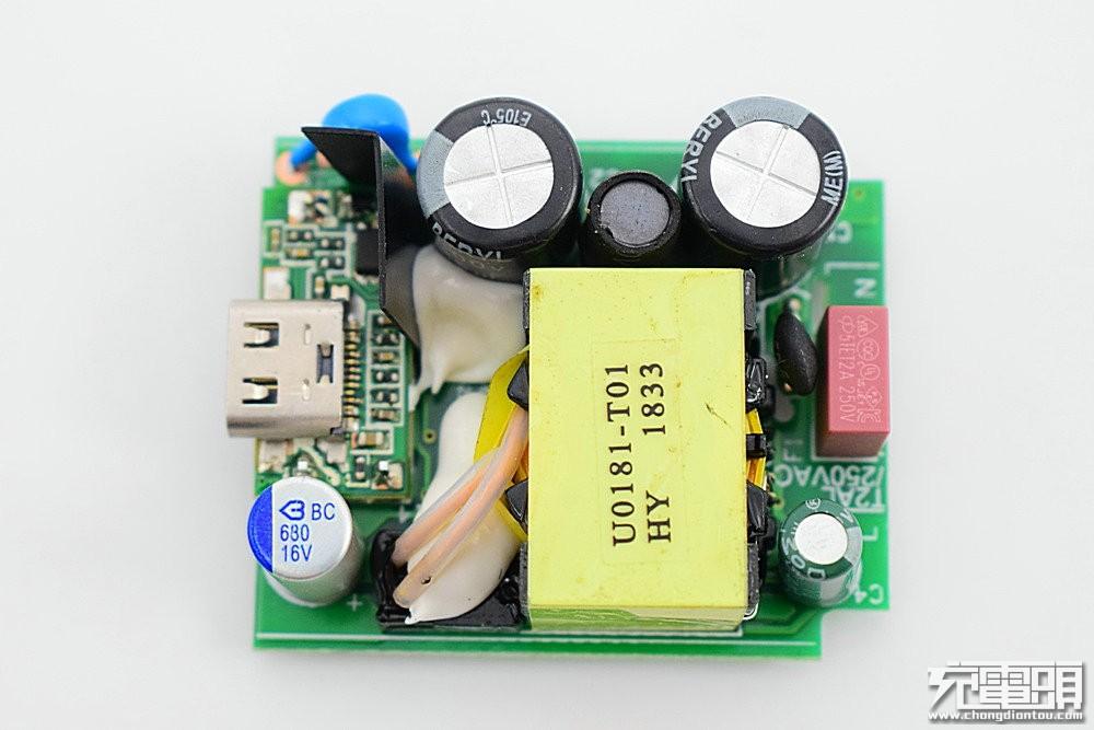QwTech 18W QC4+充电器P0181-CV拆解评测-充电头网
