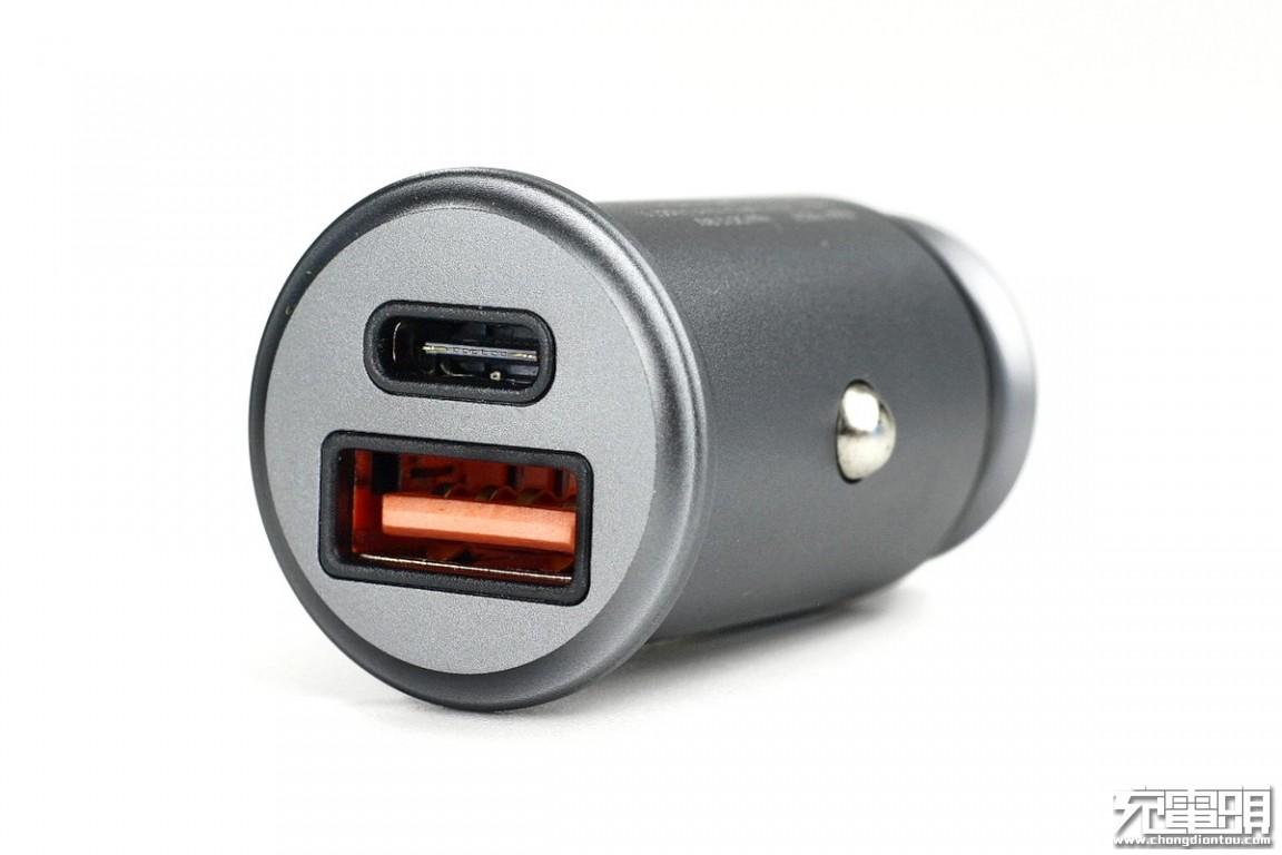 双口快充,支持QC4+:拓峰FQC24车载充电器拆解-充电头网