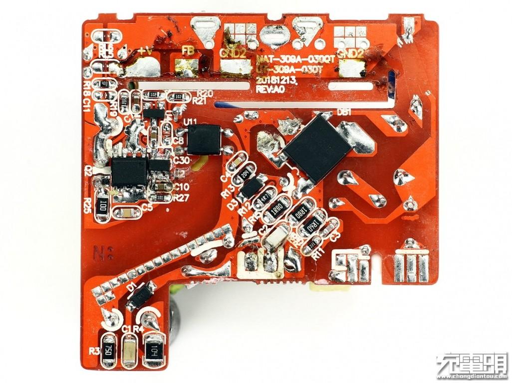 双口快充,30W输出:iClever QC4+充电器IC-WM21W拆解-充电头网