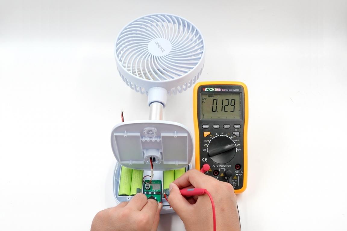 满电吹风60小时,小风扇界的扛把子来了-充电头网