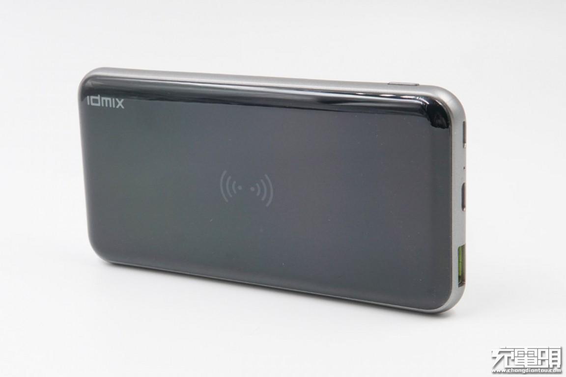 拆解分析:IDMIX POWER MIX 10000无线快充移动电源