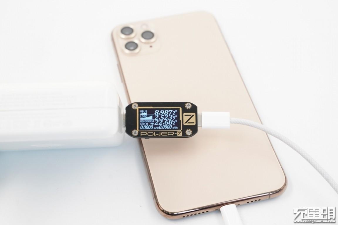 疑似iPhone12标配USB-C to lightning编织线曝光!-充电头网