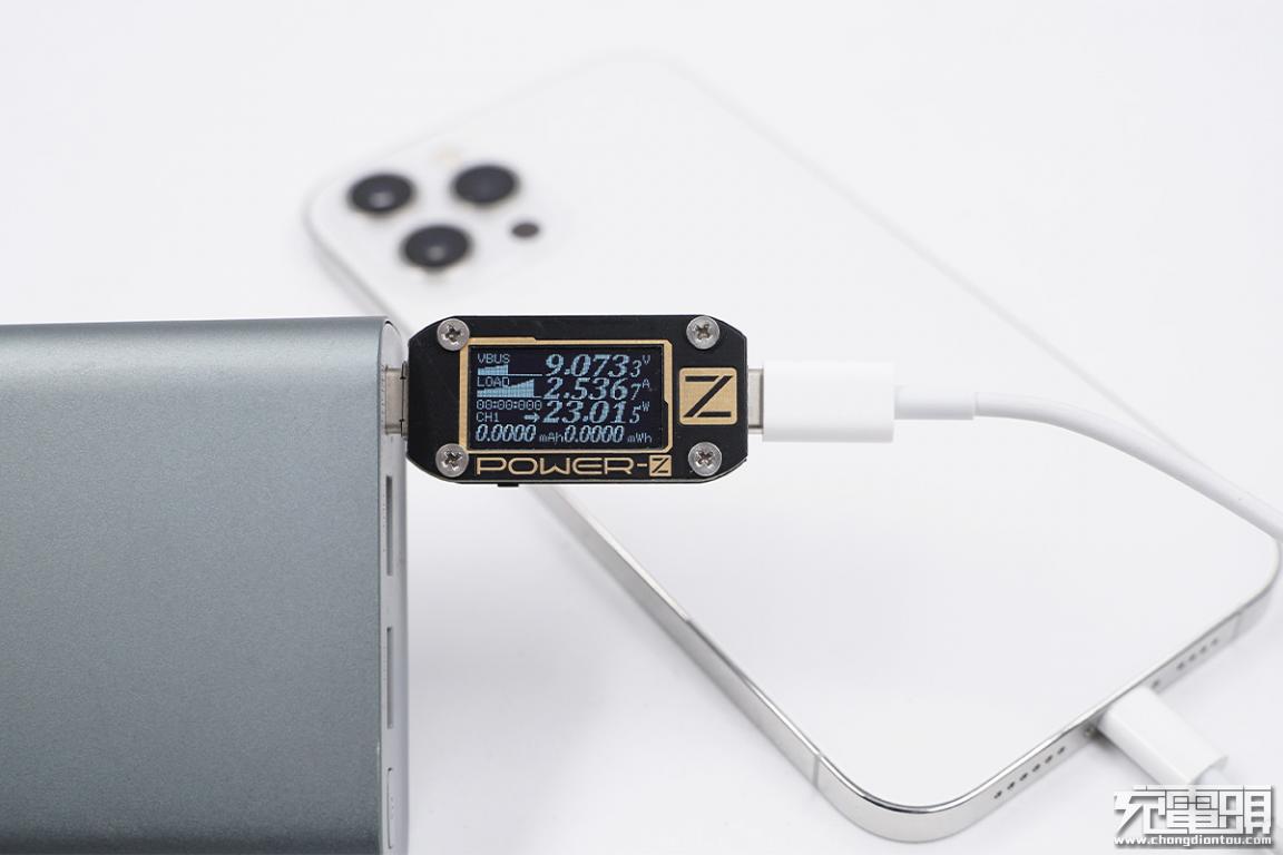 大容量,畅快充:iPhone 12 Pro Max 20000mAh充电宝兼容性测试-充电头网