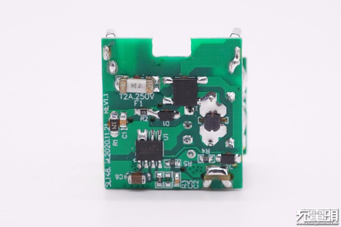 拆解报告:ZYXEI 20W迷你PD快充充电器SL-148CN-充电头网